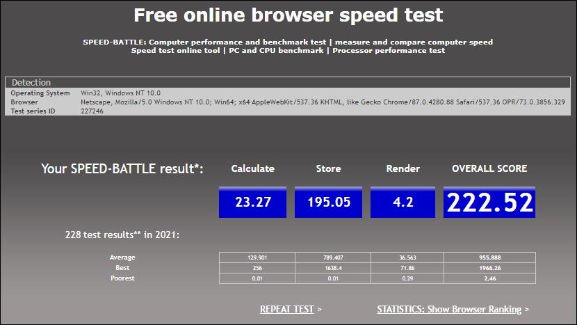 Speed-Battle