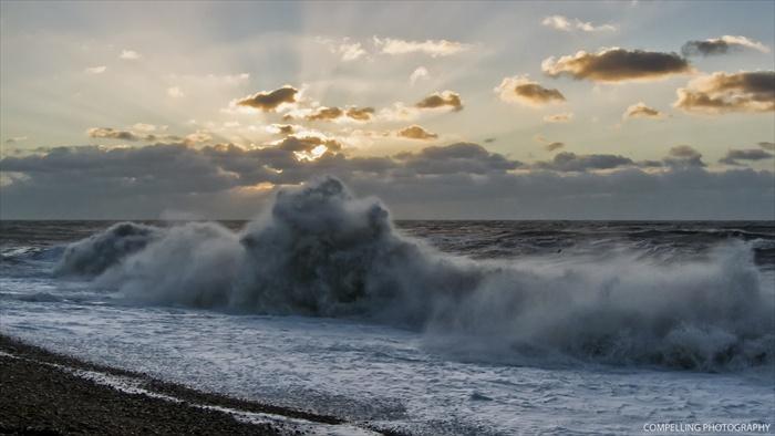 Sunrise, Hastings Beach