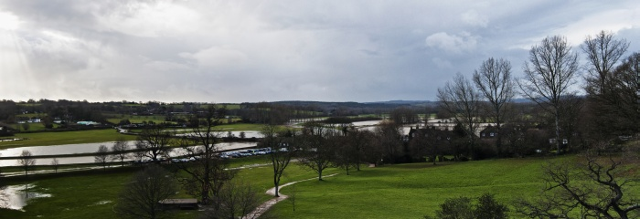 Flooding at Bodiam