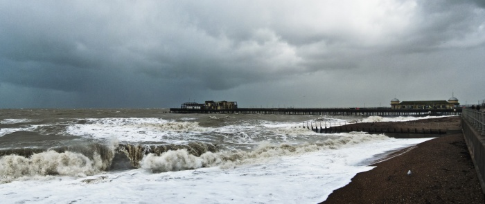 January Storm, Hastings 2014