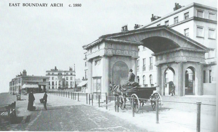 St Leonards Arch Then
