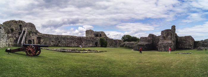 Pevensey Castle 12