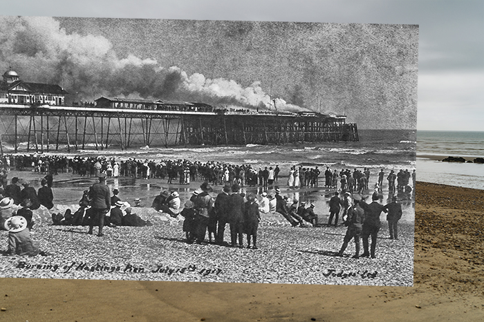 Hastings Pier Fire 1917