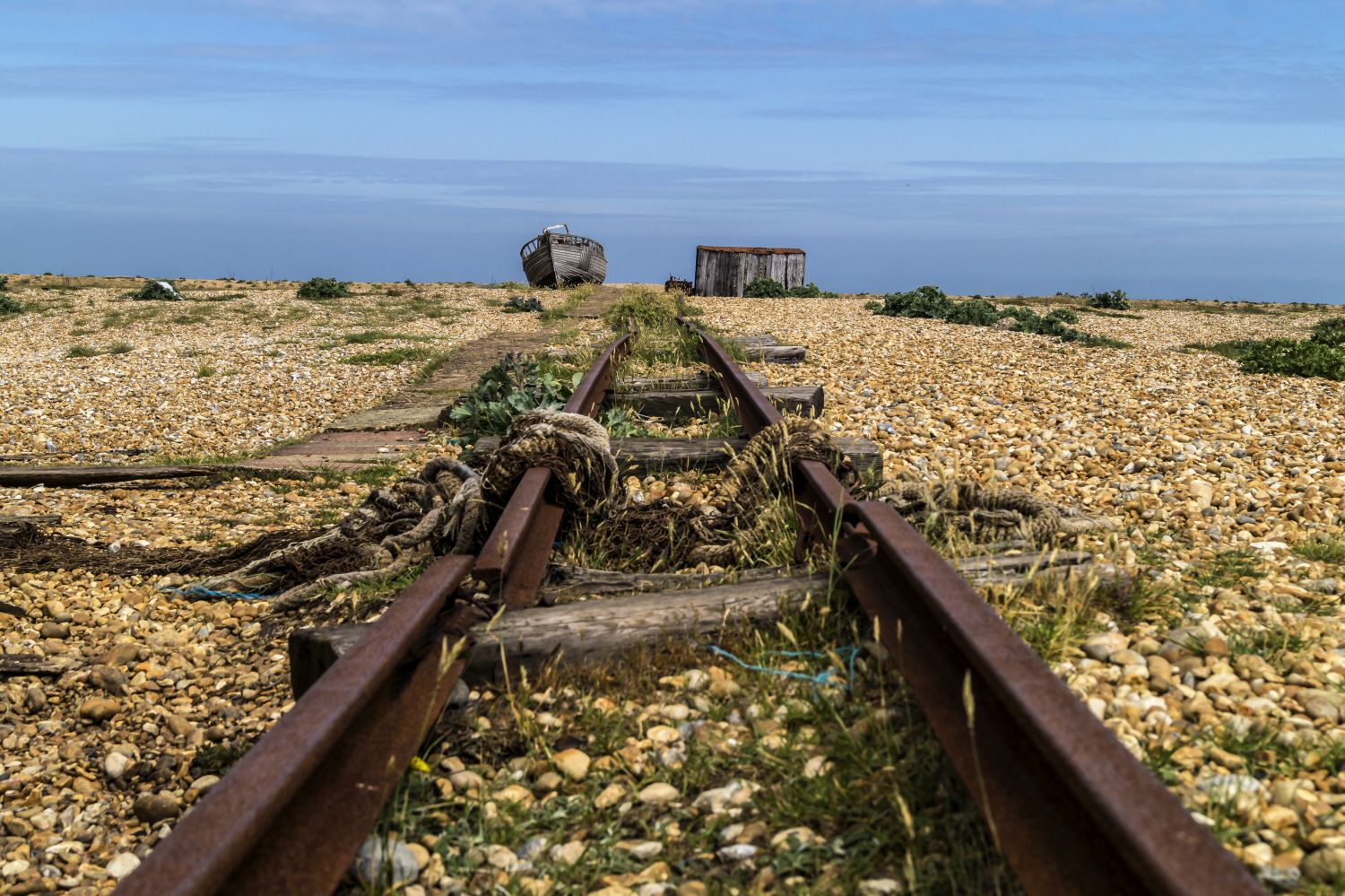 Dungeness Abandoned Boats