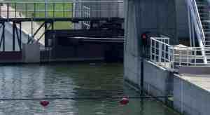 Shock Absorber for Water Locks