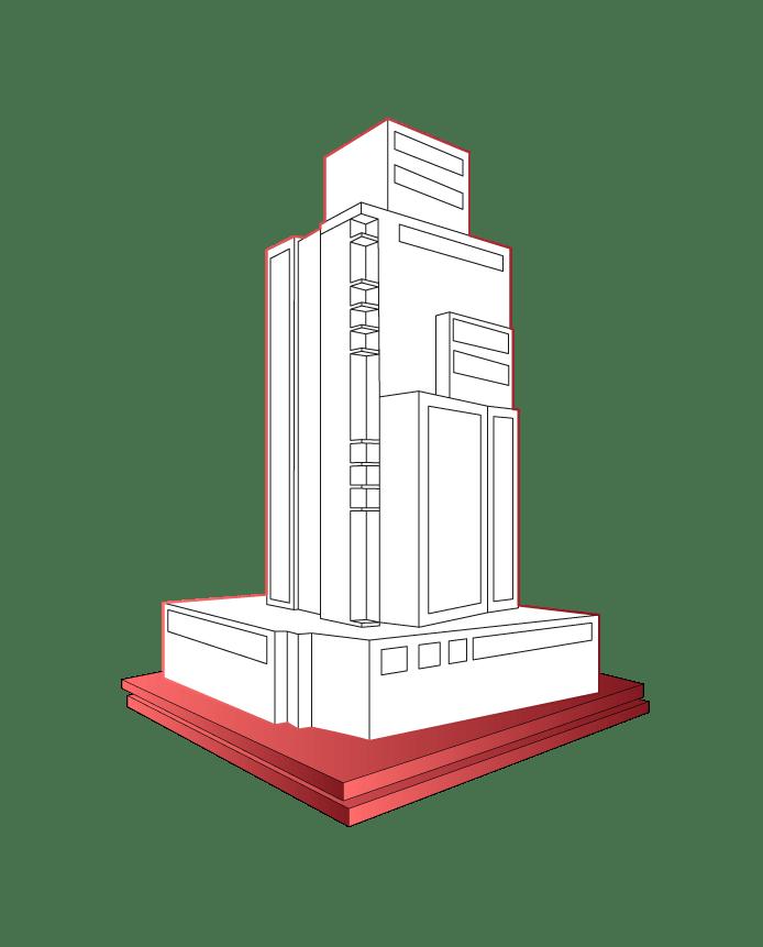 Gebäude Schwingung Tilger
