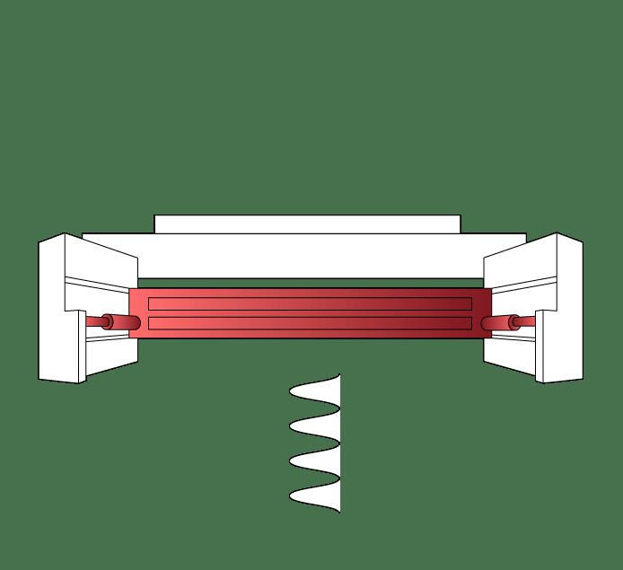 Water Lock Shock Absorber Buffer