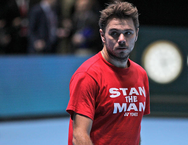 stan wawrinka World tour finals 2014