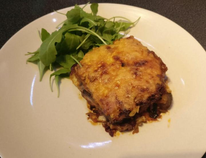 Vegetarian Moussaka The Competent Kitchen