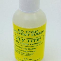 Fly-Rite Fly-Tite Head Cement (2 fl.oz.)