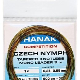 Hanak Czech Nymph Tapered Knotless Mono Leader 900cm