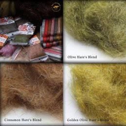 Live 4 Fly Fishing Pattern Blends Dubbing