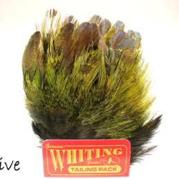 Whiting Coq de Leon Mayfly Tailing Pack