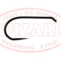 Wizard D-4 (636BL BN) Light Nymph/Dry Fly Hook
