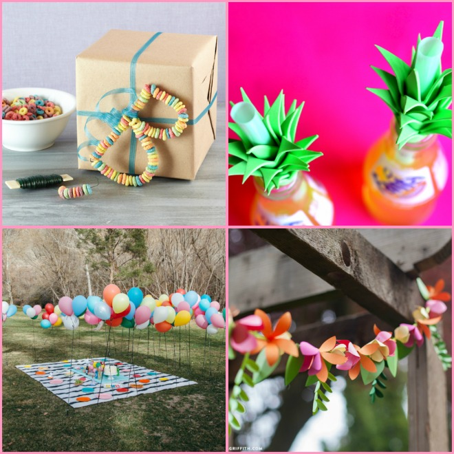 Decorazioni Per Feste Di Compleanno Bambini Fai Da Te : Decorazioni di compleanno fai da te facili feste e compleanni