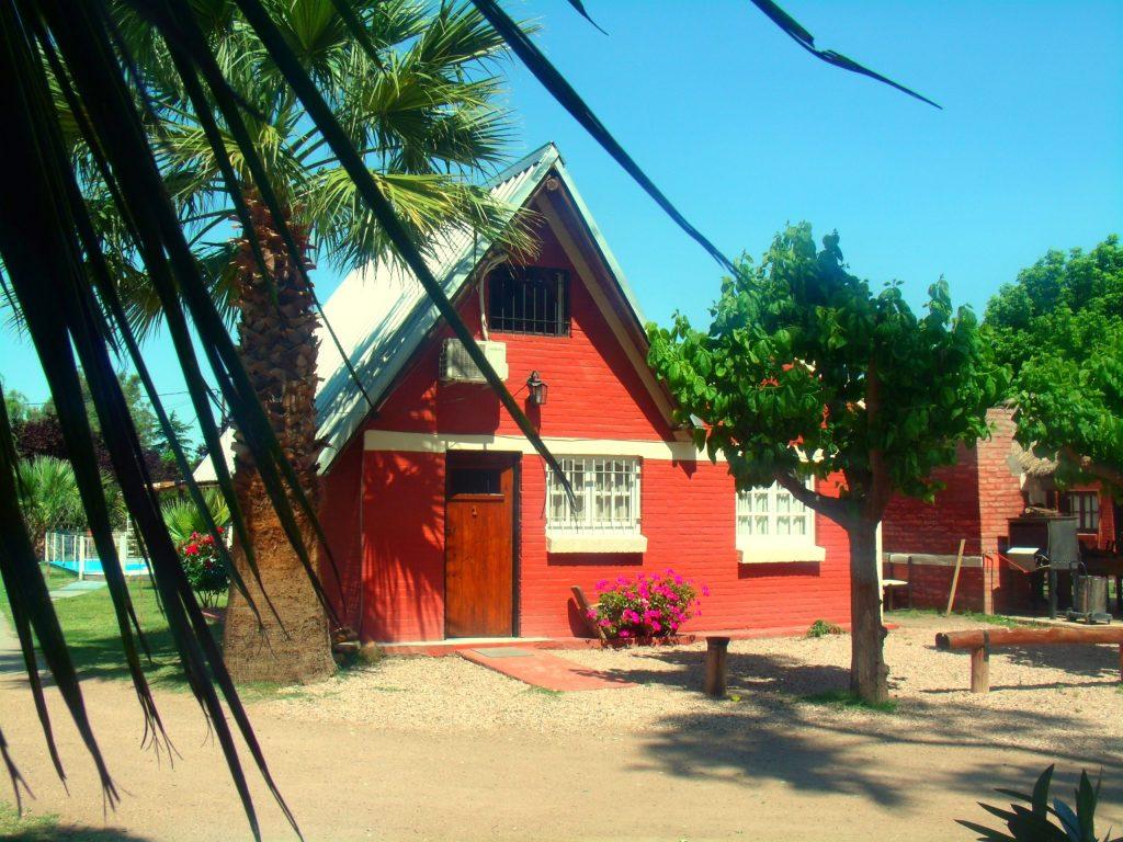 Cabaña 1 Complejo del Montañés en San Rafael para 7 personas