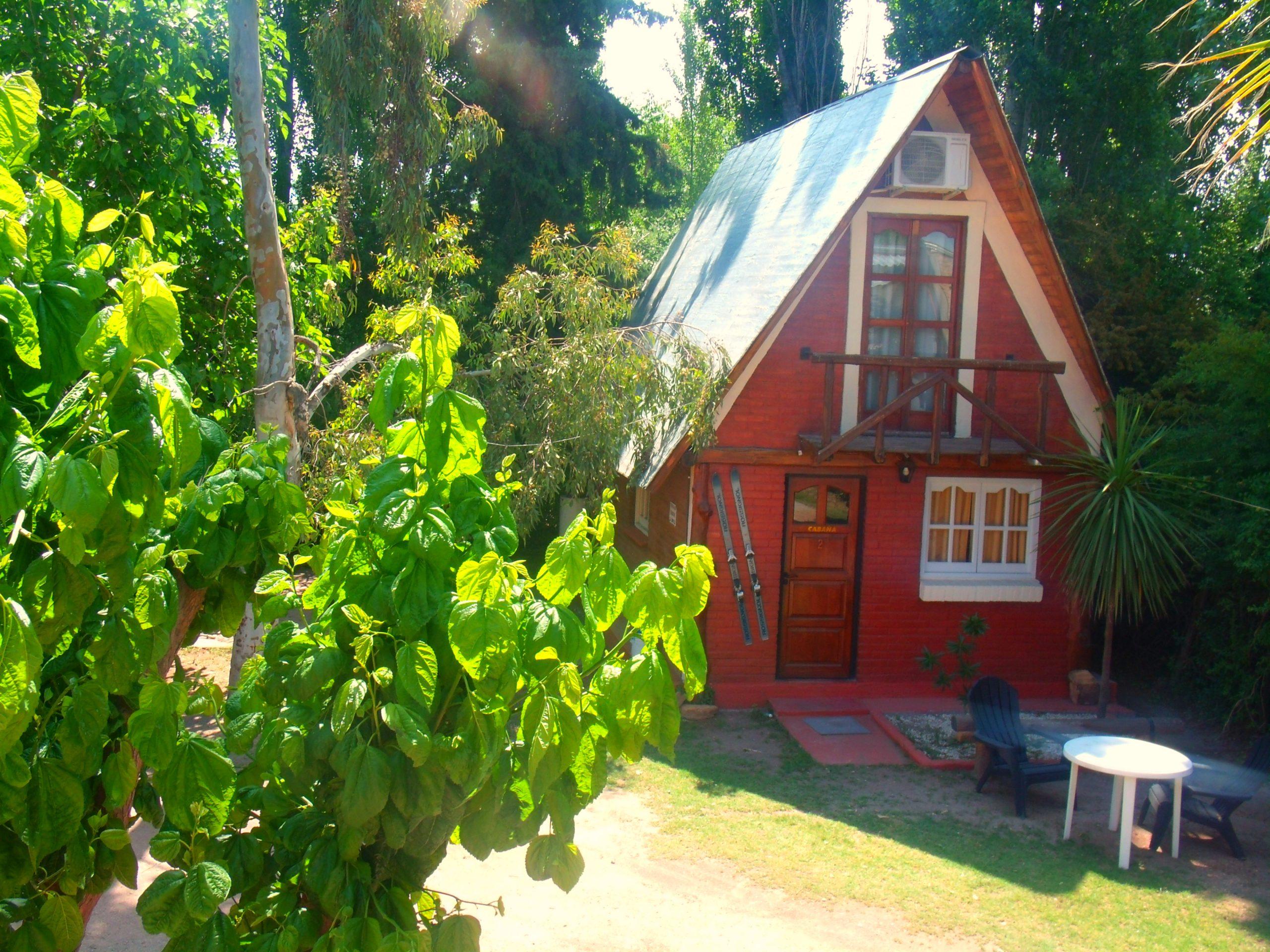 Cabaña 2 Complejo del Montañés en San Rafael para 5 personas