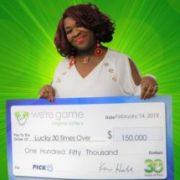 Una estadounidense gana la lotería 30 veces en un día