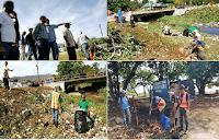 Alcalde dispone operativo de limpieza del rìo Biràn en la zona del malecón