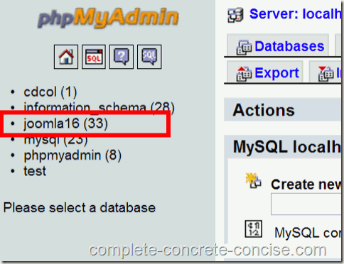 Adding a New User to a MySql database in XAMPP – Complete, Concrete