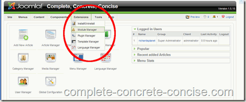 adsense-joomla-extensions-module-manager