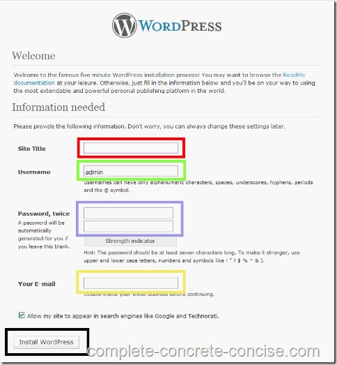 wordpress-install-under-xampp-11