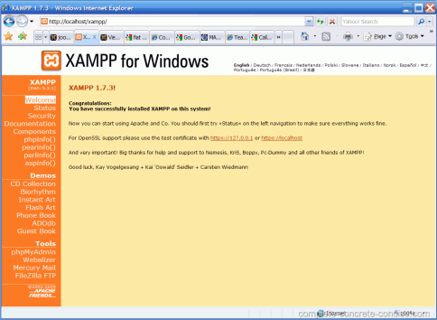 xampp-successful-install-welcome-screen