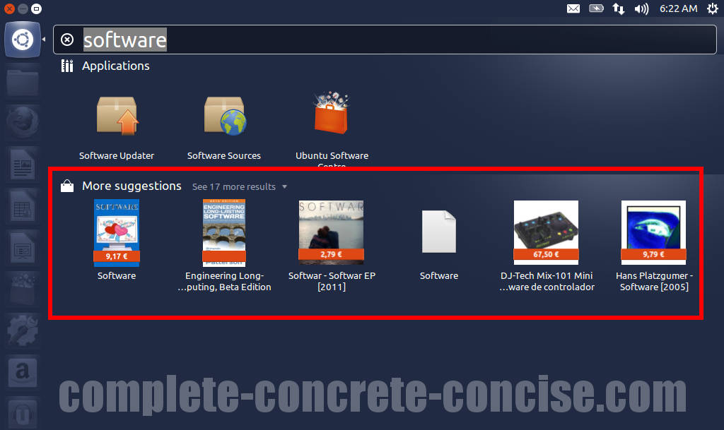 Ubuntu 12 10 – How to Disable / Turn Off Amazon Ads in the Dash