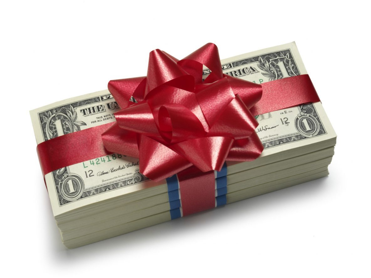 Giving Away Money Know The Tax Laws