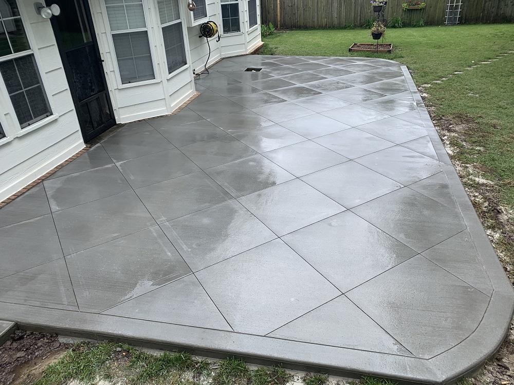 poured concrete patio in tulsa ok
