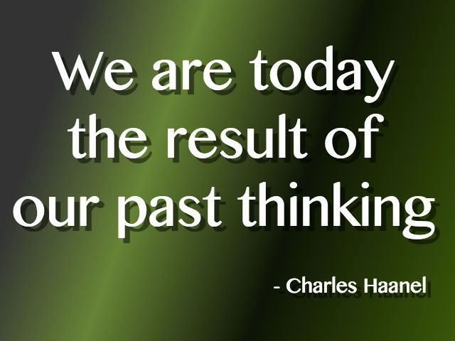 The Master Key System - Week 1_We are today the result of our past thinking