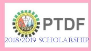 PTDF 2018/2019 POSTGRADUATE (M.SC) SCHOLARSHIP  FOR UNIVERSITIES IN THE UK