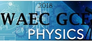 WAEC Physics  Theory & Obj Questions 2018