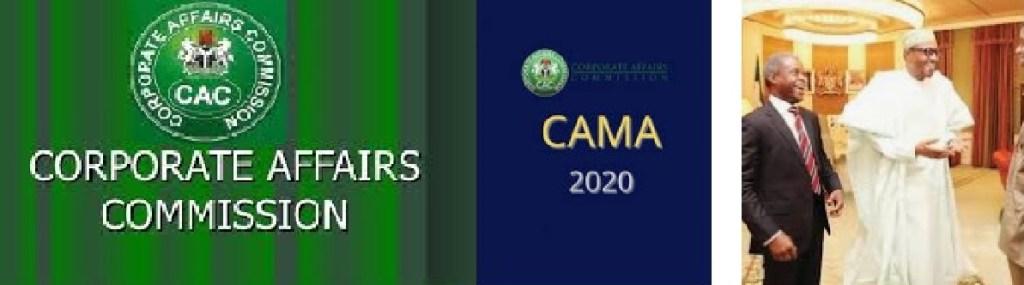 2020 CAMA Company Registration Requirements: