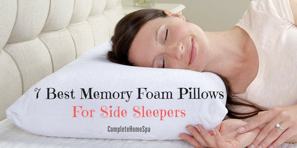 7 Best Memory Foam Pillows For Side Sleepers