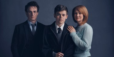 Potter Family: Harry, Albus, Ginny