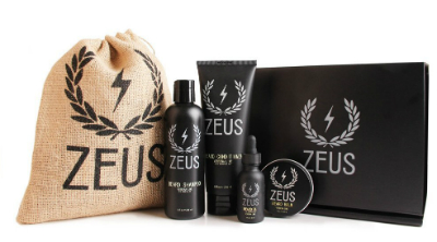 zeus beard grooming kit