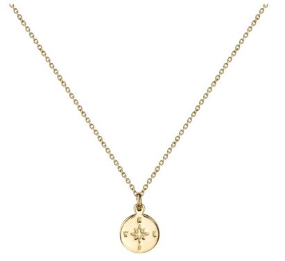 brave-collection-compass-necklace-gold