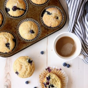 Classic Blueberry Muffins | completelydelicious.com