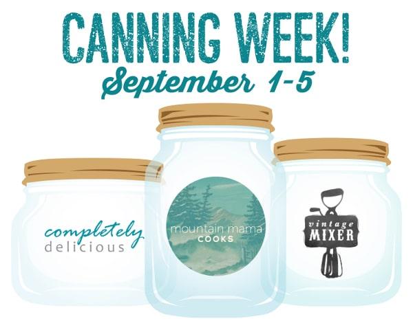 Canning Week 2014