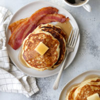 It's not an exaggeration— these really are the best buttermilk pancakes! They're light, fluffy, and full of flavor.