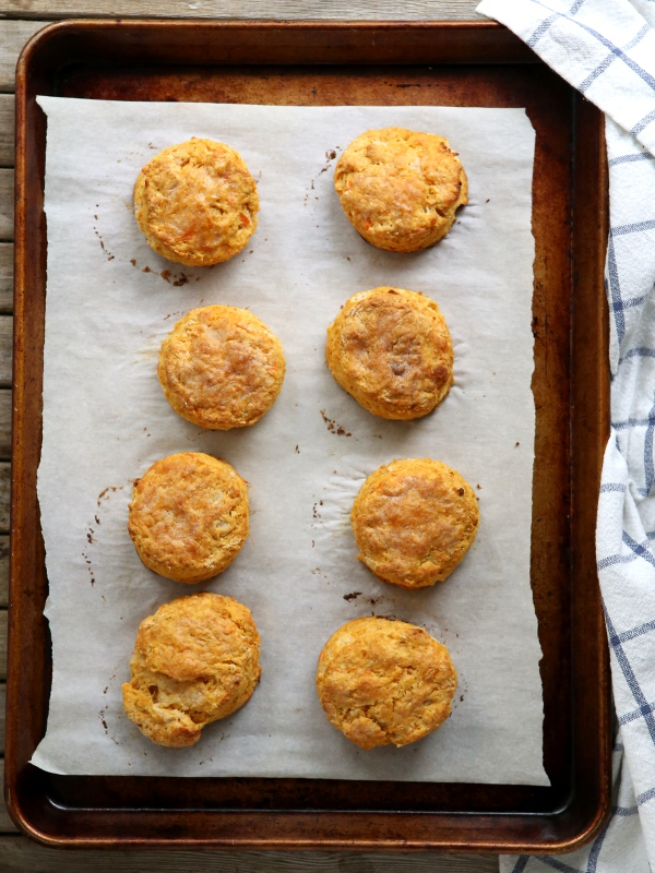 Sweet Potato Biscuits | completelydelicious.com