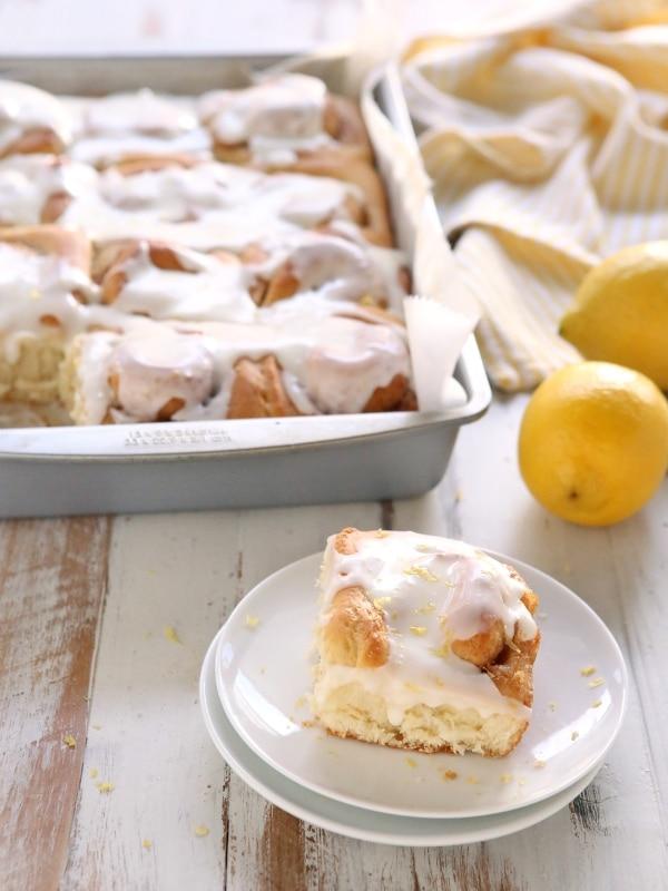Lemon Cinnamon Rolls   completelydelicious.com