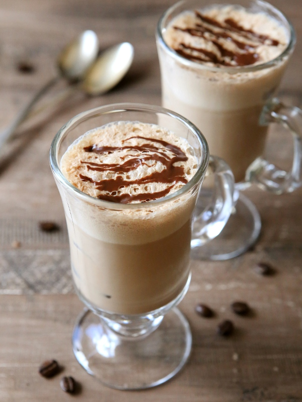 Mocha Coffee Coolers   completelydelicious.com
