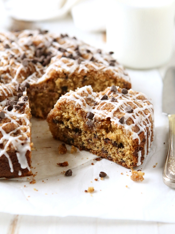 Chocolate Chip Coffee Cake | completelydelicious.com