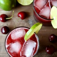 Cherry Limeade | completelydelicious.com