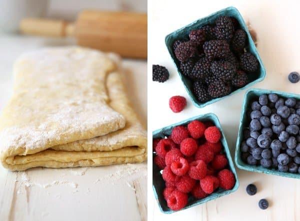 Summer Berry Breakfast Danish Braid | completelydelicious.com