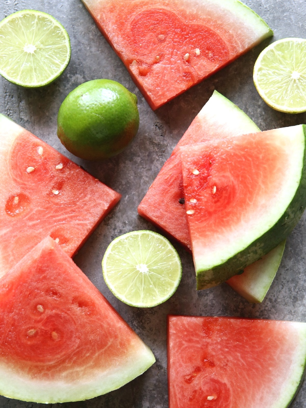 Watermelon Lime Granita   completelydelicious.com