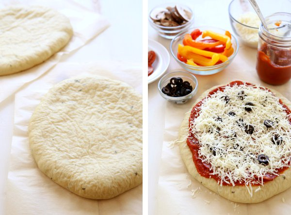 How to freeze homemade pizza | completelydelicious.com