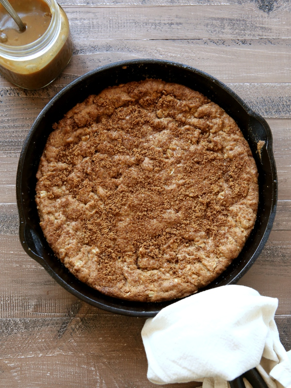 Brown Butter Skillet Cookie 1